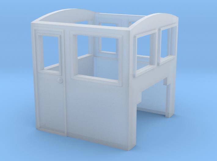 HOn30 BACHcab switcher part 3d printed