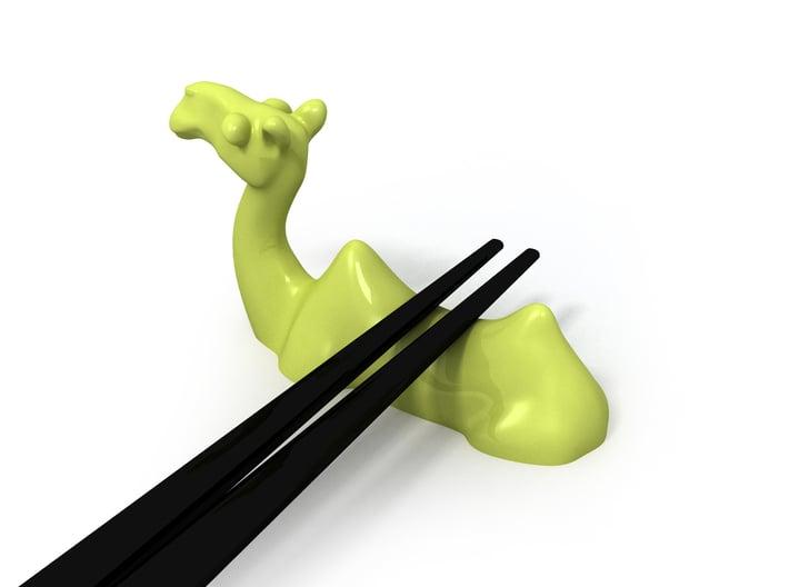 Camel Chopstick Stand 3d printed
