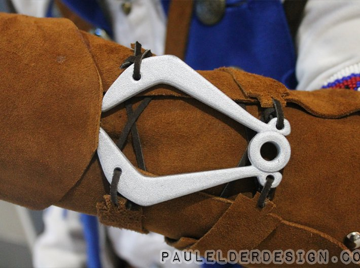 Connors Vambrace Clasp 3d printed Finished product on one of my customers cosplay's