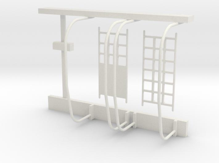 04-J mission - Quad 3 Support 3d printed