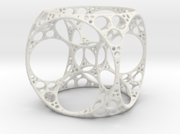 Apollonian Cube 3d printed