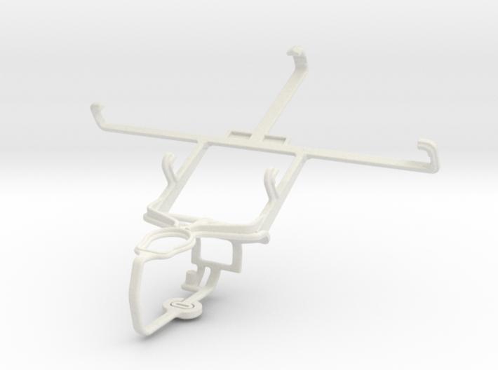 Controller mount for PS3 & Gigabyte GSmart Sierra 3d printed