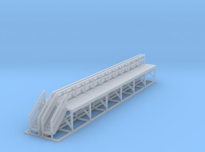 N Scale Train Maintenance Platform DOUBLE LENGTH 3d printed
