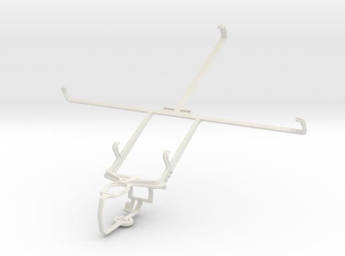 Controller mount for PS3 & Pantech Element 3d printed