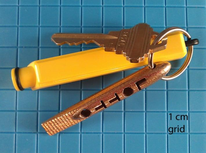 tool LOTTO Scratch Card Scraper 3d printed photo - Steel