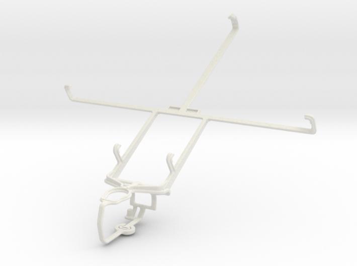 Controller mount for PS3 & Prestigio MultiPad 8.0 3d printed