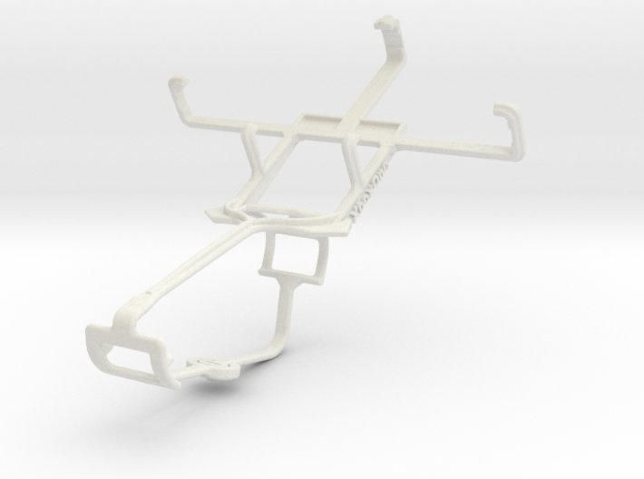 Controller mount for Xbox One & Samsung Galaxy Poc 3d printed