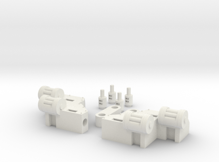 RL gun arms 3d printed