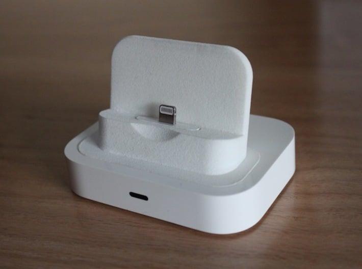 iPhone 5/5s/6 Lightning Adapter for Universal Dock 3d printed Apple universal dock