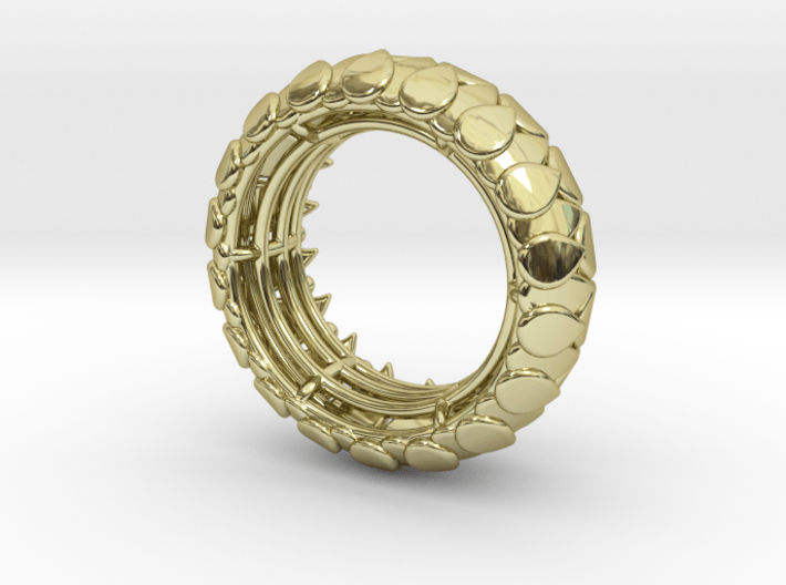 LEAFY Ring 3d printed