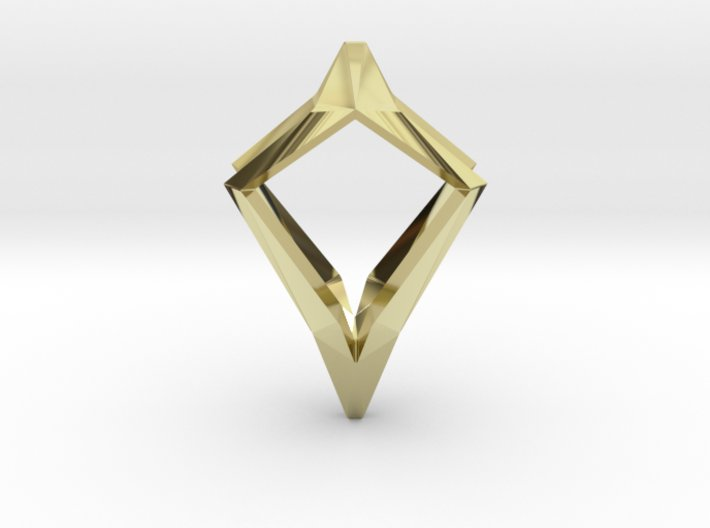 HEAD TO HEAD Natural, Pendant 3d printed