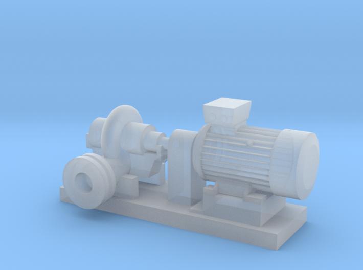 Centrifugal Pump #1 (Size 2) 3d printed