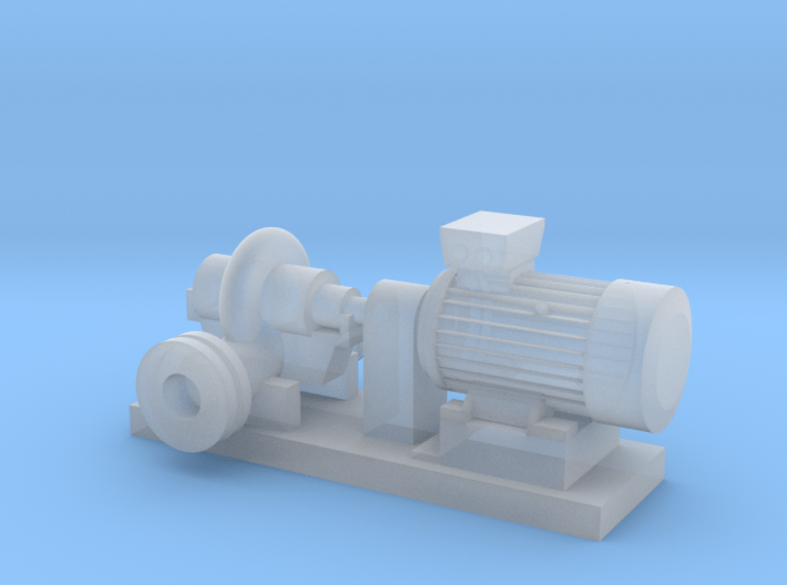 Centrifugal Pump #1 (Size 3) 3d printed