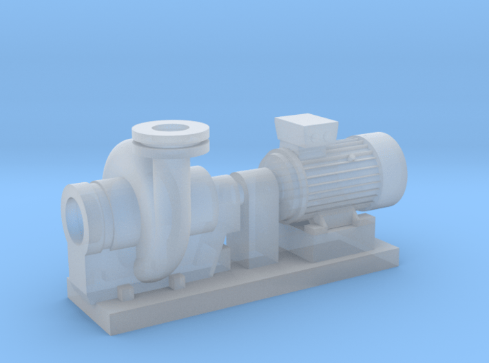 Centrifugal Pump #2 (Size 2) 3d printed