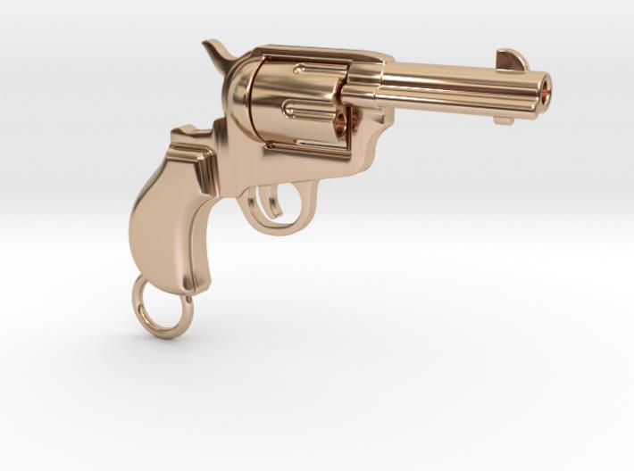 Gun pendant Colt 3d printed