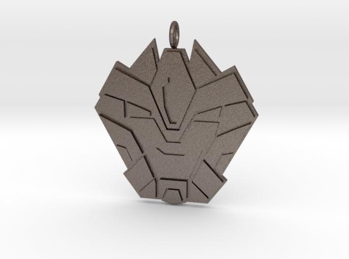 Hammer Time Badge 3d printed