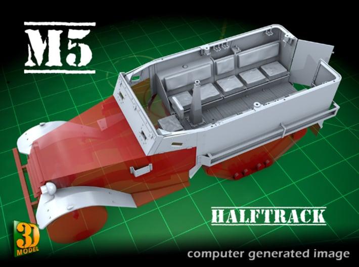 M5 IHC Halftrack conversion (1:35) 3d printed M5 conversionset