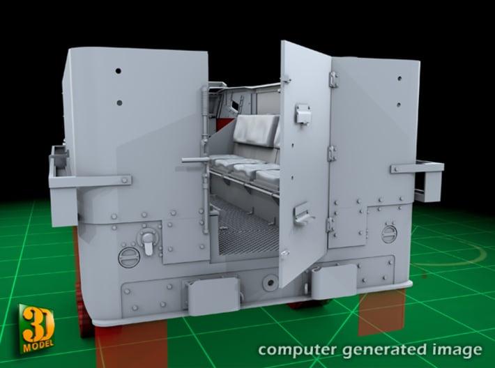 M5 IHC Halftrack conversion (1:35) 3d printed M5 conversionset back