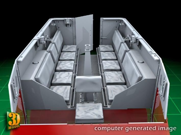 M5 IHC Halftrack conversion (1:35) 3d printed M5 conversionset interior