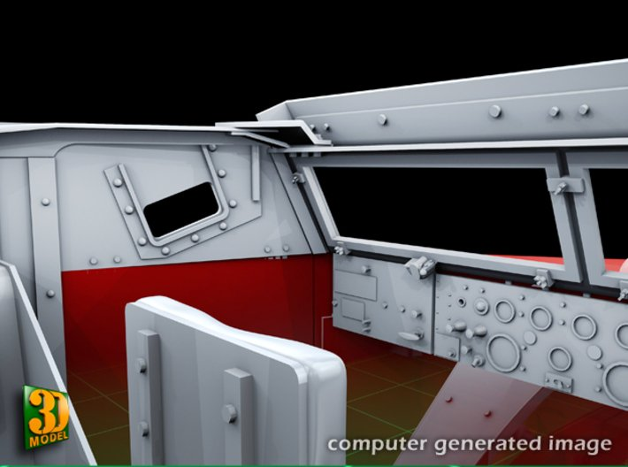 M5 IHC Halftrack conversion (1:35) 3d printed M5 conversionset cabine