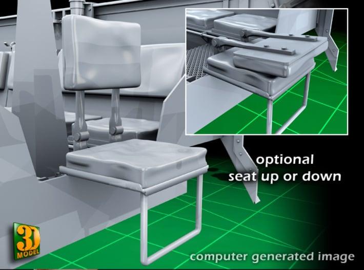 M5 IHC Halftrack conversion (1:35) 3d printed M5 conversionset seat
