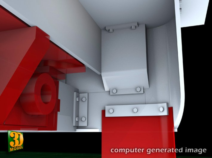 M5 IHC Halftrack conversion (1:35) 3d printed M5 conversionset taillight box