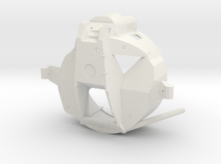 07A-Forward Section Structure 3d printed