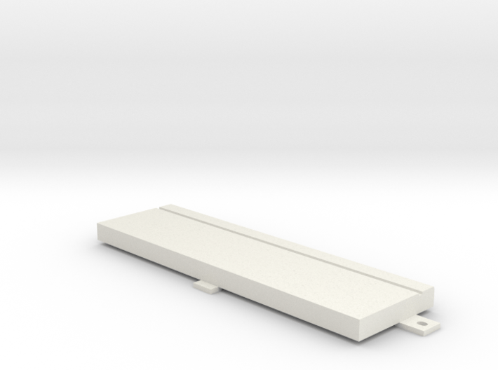 """Floppy Cover 5,25"""" compatible to Amiga 4000 3d printed"""