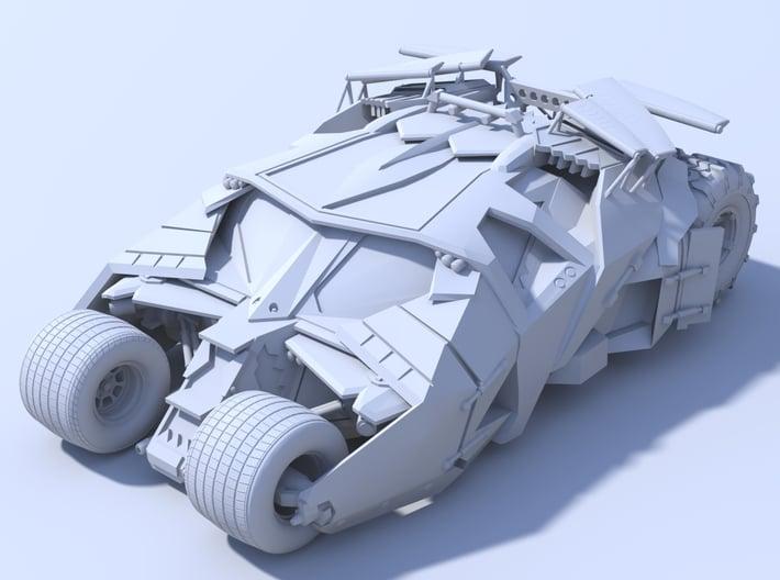 Batman - Tumbler Car [120mm & Hollow] 3d printed