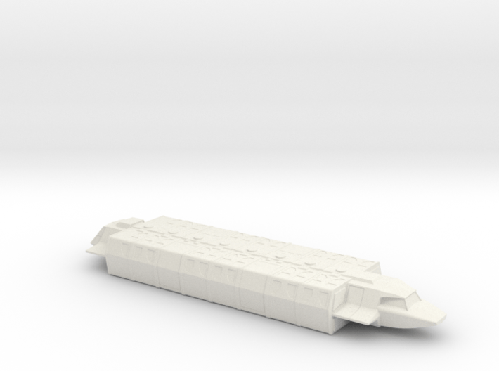 Shuttle (Industrial) in Flight (V, Visitors) 3d printed