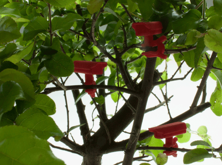 Bonsai surveillance kit - CCTV 3d printed