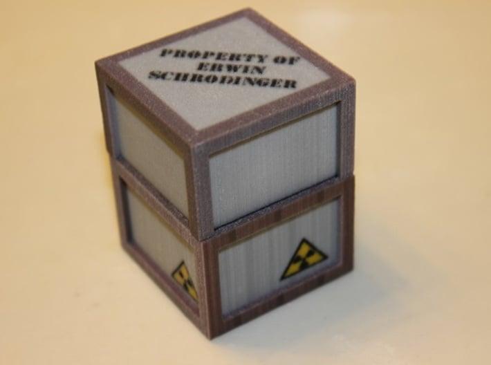 Schrödinger's Box 3d printed Box (Cat Sold Separately)