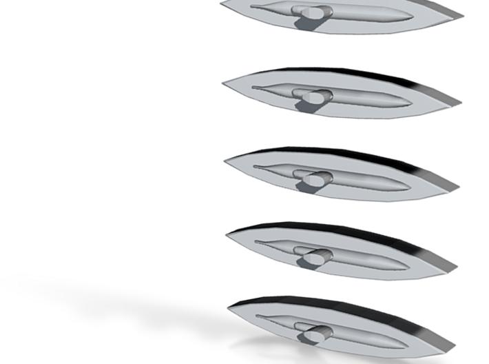 U-2322 (Type XXIII U-Boat) 1/1800 x5 3d printed
