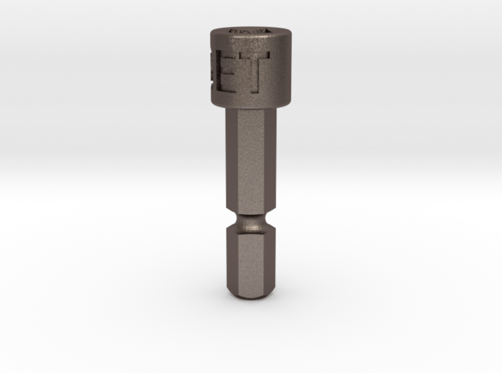 Coffee Grinder Bit For Drill Driver CDP-L 3d printed