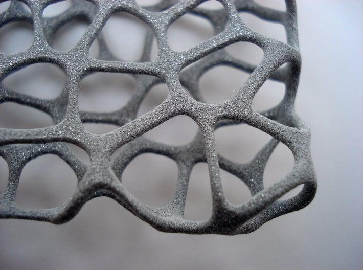 Voronoi cushion (11cm) 3d printed
