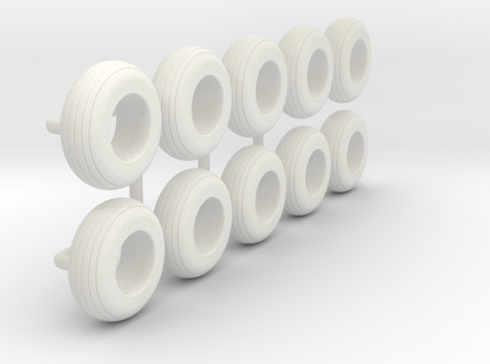 1/64 9.5L-15 Implement Tire 3d printed