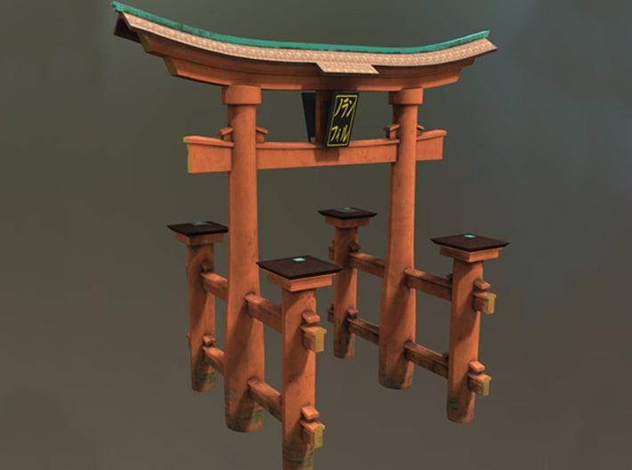 Japanese Torii Gate  3d printed
