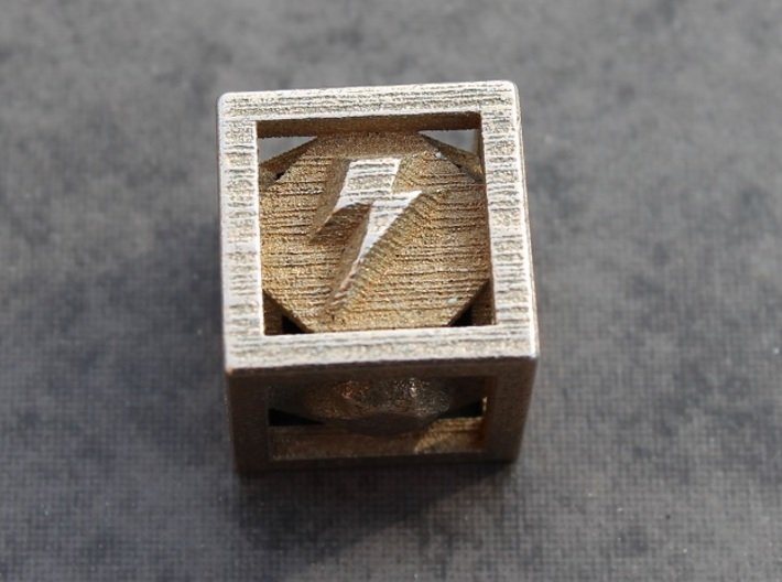 """Elements of Harmony Die 3d printed The Element of """"Loyalty"""" in Stainless Steel"""