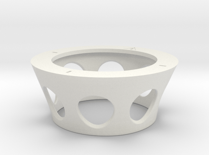 RVJET Spinner Cover 8 holes (60mm) 3d printed