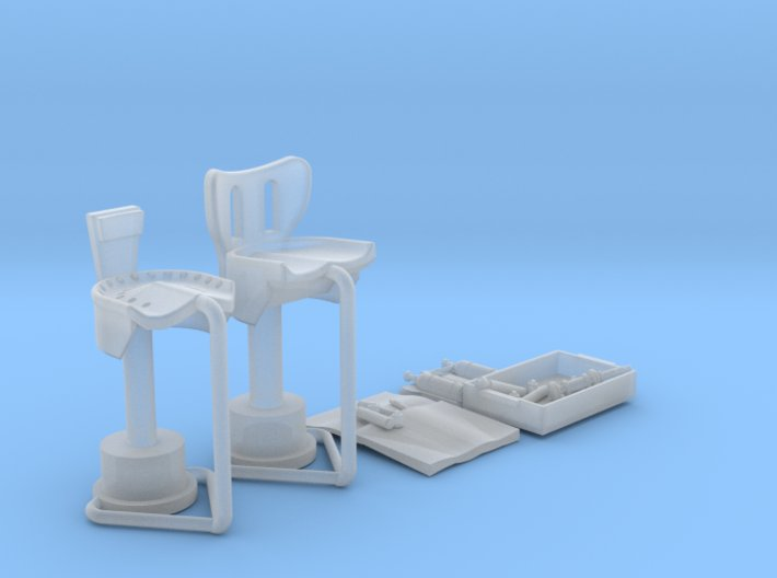 YT1300 DEAGO SET HALL CHAIRS TOOLS 3d printed