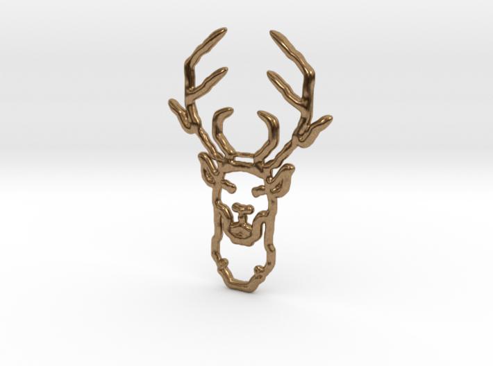 Deer In Wire 3d printed