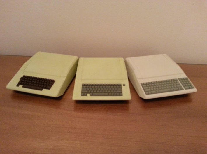 Apple IIe Platinum Raspberry Pi Enclosure SHELL 3d printed WSF painted and assembled