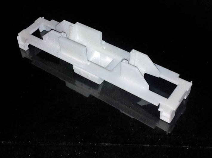 Dr14 alusta (H0) / Dr14 frame (H0) 3d printed Dr14 frame for Dr14 housing. H0.