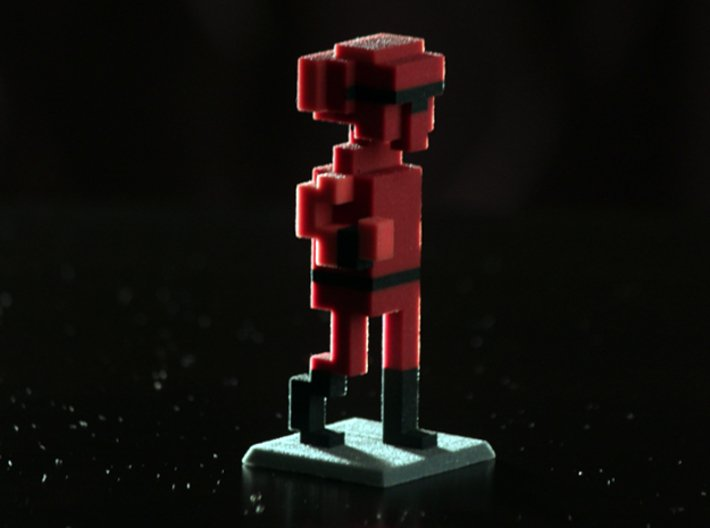 Alien Intruder 3d printed