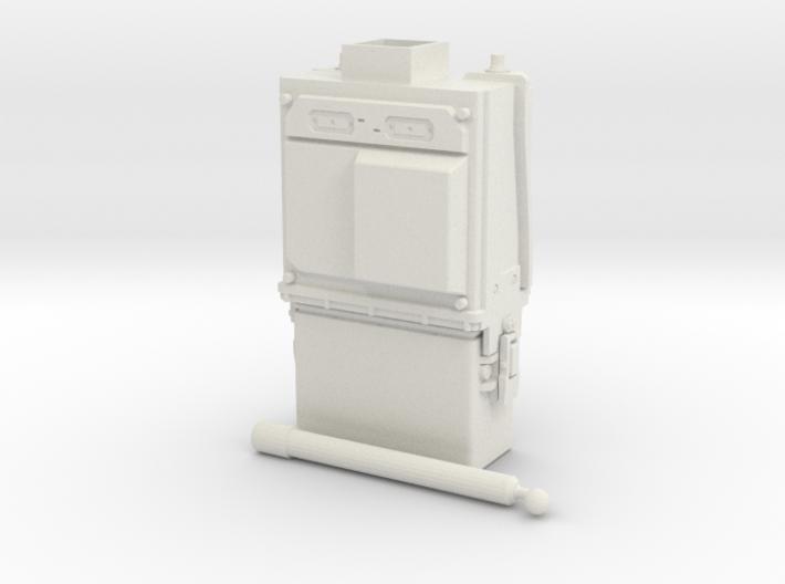 PRC-117G Body WSF 1/6 3d printed