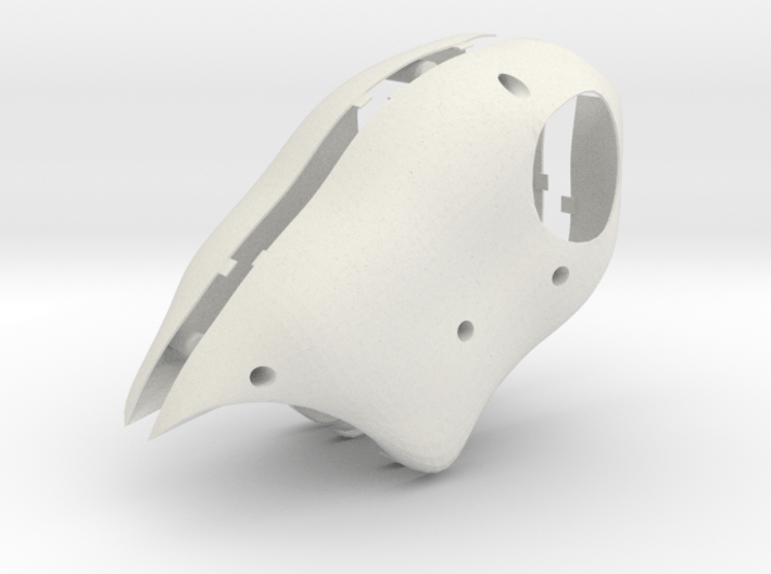 Puffin Shell 3d printed