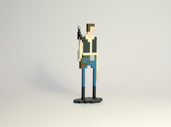 The Pixel Scoundrel 3d printed Picture by louis.dumetz@gmail.com