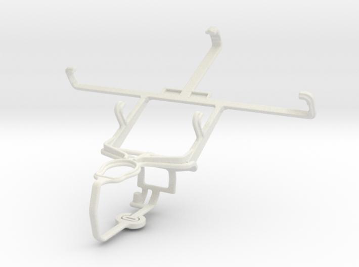 Controller mount for PS3 & Gigabyte GSmart Maya M1 3d printed
