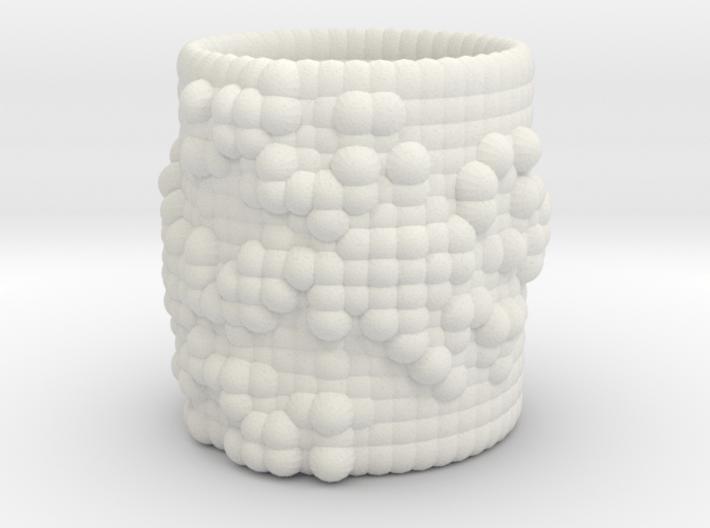 Pebble Cup - Julia Set 0 (Large Size) 3d printed