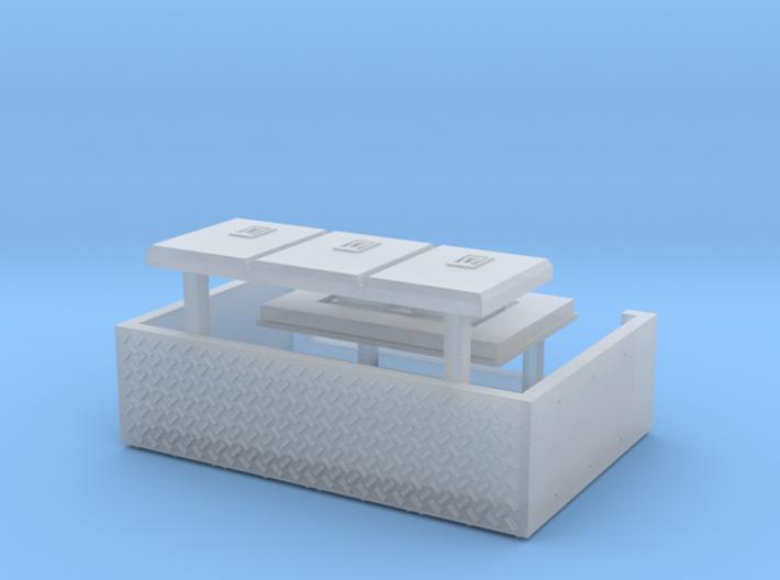 HO Stephens Railcar TGX Revolution Upgrade Kit 3d printed